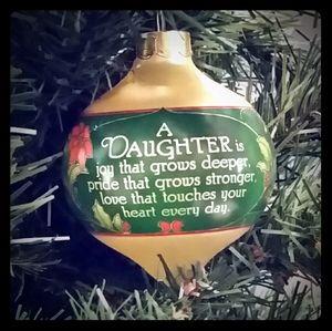 Hallmark 1984 Daughter Keepsake Ornament
